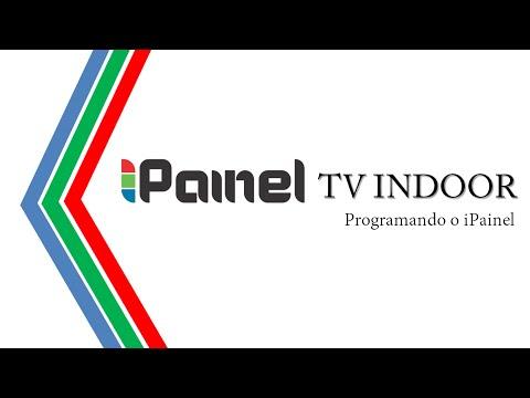 iPainel TV indoor - Programando o Player