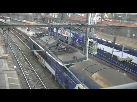Train à Versailles Chantiers