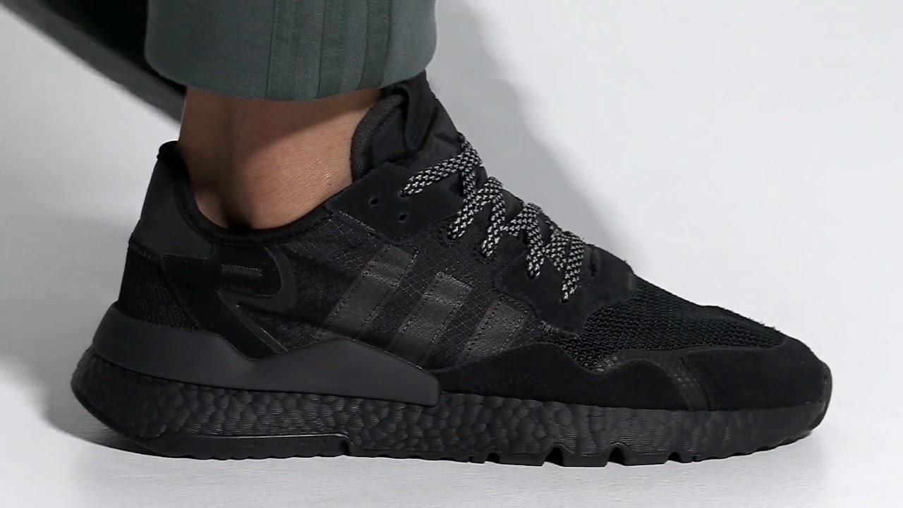 Adidas Nite Jogger Shoes/Black/Adidas