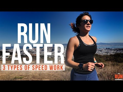 How To Run Faster - 3 Types Of Speed Work