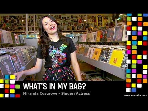 Miranda Cosgrove - What's In My Bag?