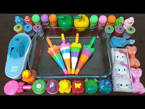 Mixing Random Things Into Store Bought Slime ! Most Satisfying Slime video #22 | Alex Slime
