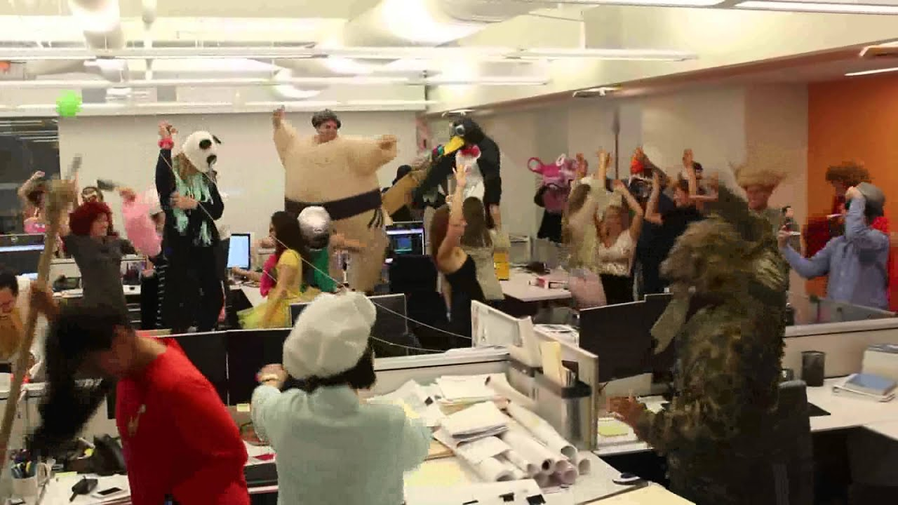 Office Gone Crazy Youtube