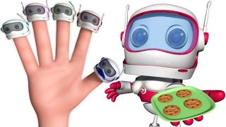 Robot Finger Family And Many More   Nursery Rhymes & Kids Songs   Finger Family Songs For Babies
