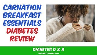 Diabetes Review: Carnation Breakfast Essentials