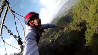 Superman ride @ Tree top adventure Baguio