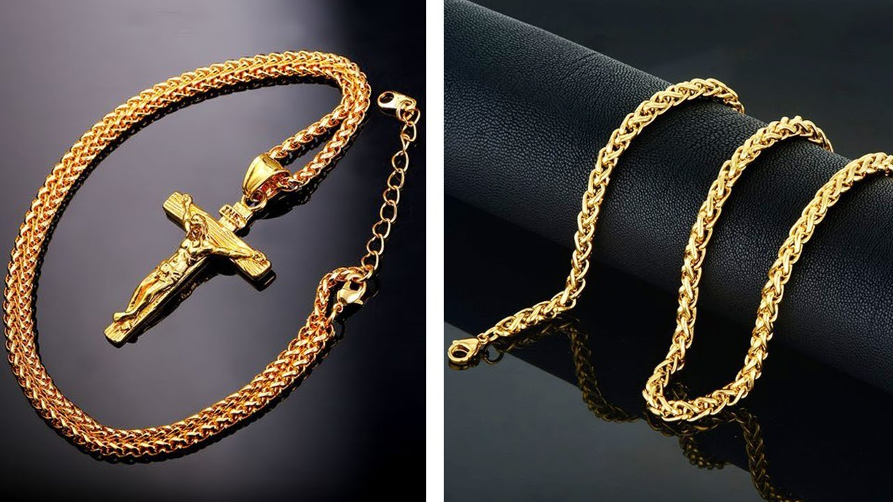 gold detail fashion design jewelry jewellery for mens chain product new buy men dubai