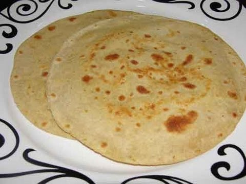 Paratha (Chapati) - Indian Flat Bread Recipe - YouTube