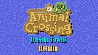 Animal Crossing NL Dream Towns: Hetalia ; References...