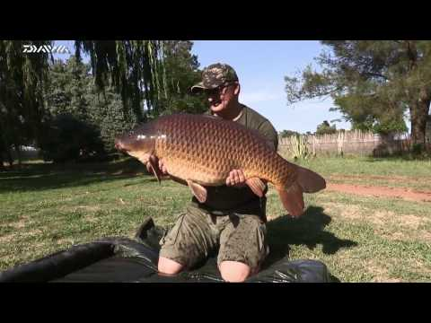 ASFN Specimen Carp - Out With Danny Fairbrass Catching 43.5lb At Donaldson Dam South Africa