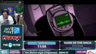Mark Of The Ninja by Vyreck in 48:35 - SGDQ 2016 - Part 128