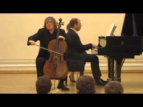 Brahms - Cello Sonata in D major op.78 - Alexander Kniazev & Andrei Korobeinikov