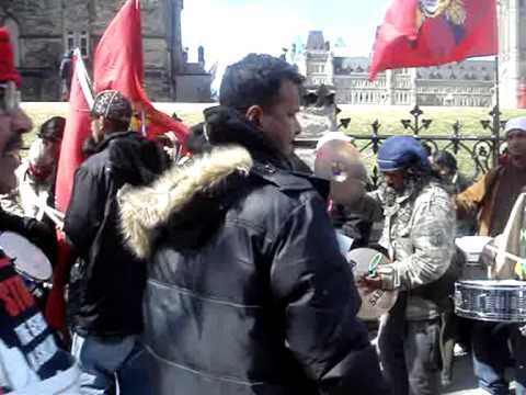 Tamil Protest in Ottawa, Canada