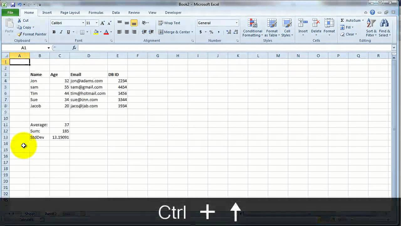 VideoExcel - Excel 2010 shortcuts you can't live without