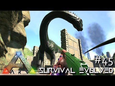 ARK: Survival Evolved - MONSTER BRONTOS !!! - [S4 E45] (ARK Gameplay)
