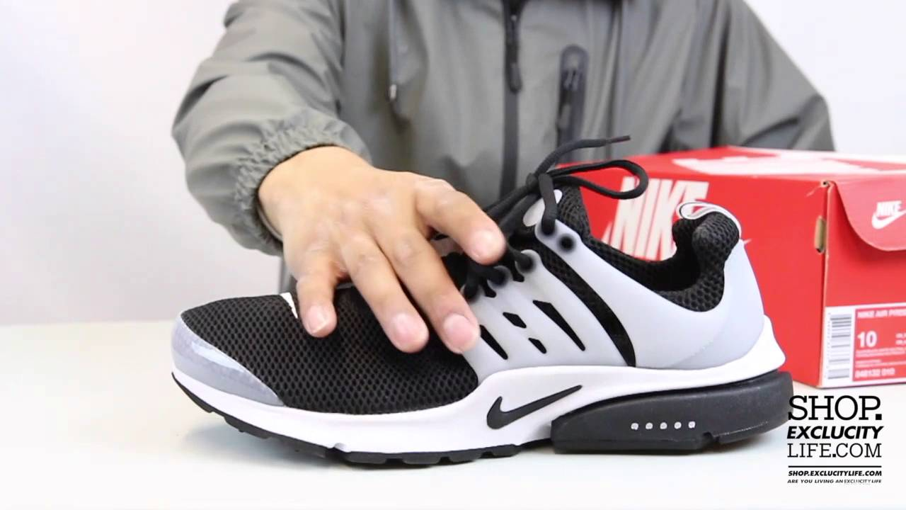 d169f882a52d Air Presto Black - White Unboxing Video at Exclucity - YouTube