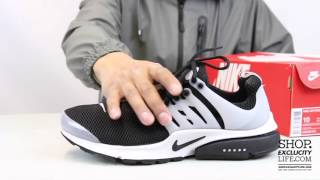 76acd558c9e2 Air Presto Black - White Unboxing Video At Exclucity