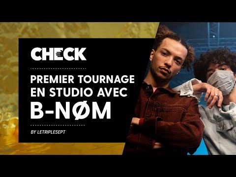 Youtube: Premier tournage studio avec B-NØM