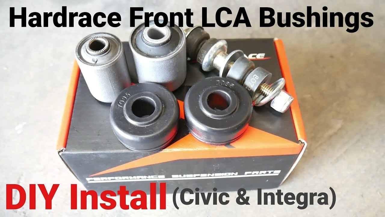 How To Install Front Lower Control Arm Bushing 88 91