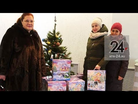 В акции «Стань Дедом Морозом!» впервые приняли участие сотрудники фирмы «Термостепс»