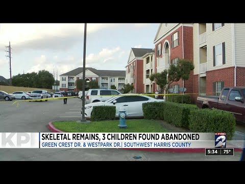 3 children, including skeletal remains of possible 9-year-old, found inside abandoned apartment ...