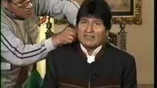 Evo Morales el coqueto