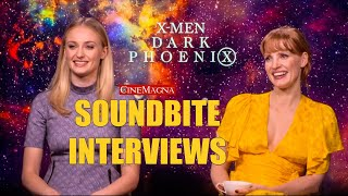 Dark Phoenix Movie Interviews: Sophie Turner, James McAvoy, Fa…