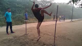 High jump techniques(round)