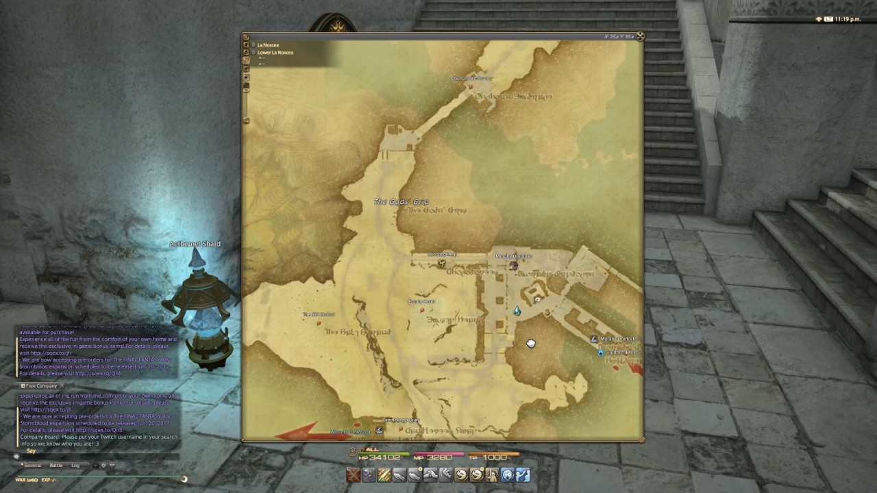 Final Fantasy XIV Stormblood: Improved Maps User Interface - YouTube