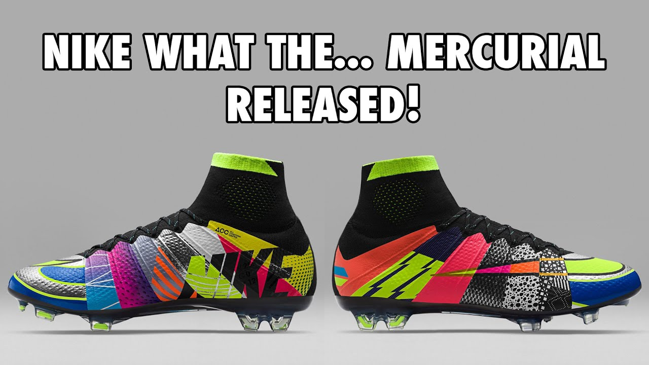 87dd86dee6f2 Exclusive  Nike What The... Mercurial Limited Edition Released ...