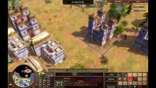 Company Confrontation - India M5 - Hard Walkthrough - Age of Empires III Asian Dynasties