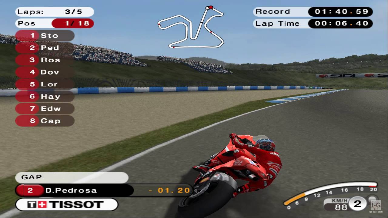 MotoGP 08 PS2 Gameplay HD - YouTube