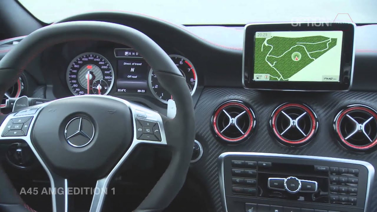 mercedes a45 amg edition 1 interior design hd option auto news