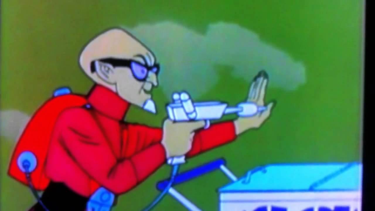 Reducto shrinks the Pentagon - Harvey Birdman - YouTube