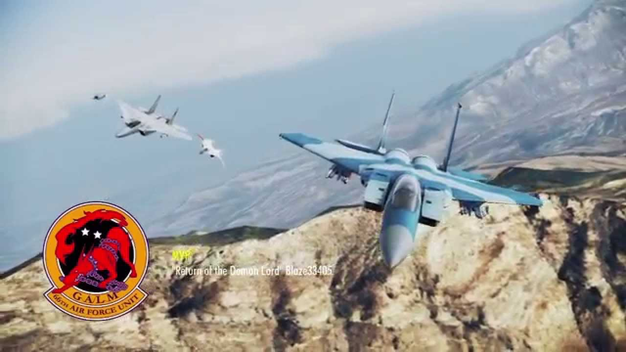 The Round Table Ace Combat.Ace Combat Infinity Tdm Demon Lord Of The Round Table Match 4 Close Call