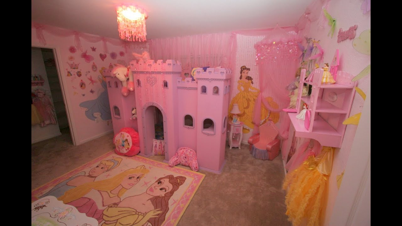 Princess bedroom furniture barbie princess bedroom for Fairy princess bedroom ideas