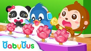 Ice Cream Smoothie - Ice Cream & Smoothies - Kids Make Ice Cream With Panda | Animation For Babies | BabyBus