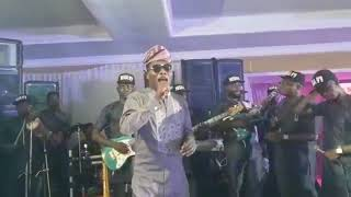 Mega 99 live performance at the wedding party of Lekan Saromi & Kemi.