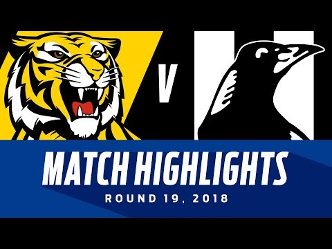 Richmond v Collingwood Highlights | Round 19, 2018 | AFL