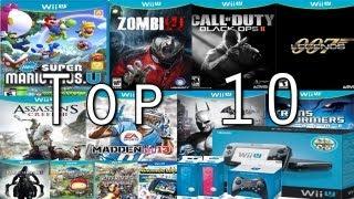 Top 10 Wii U Games In The Launch Window
