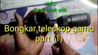 Cara membuat mounting dudukan kamera pada telescope senapan dengan