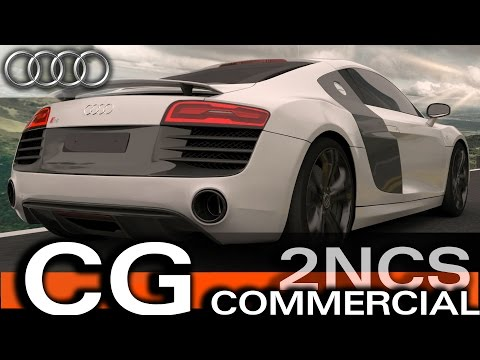 Audi R8 V10 Plus | 3D Animation - Car Commercial