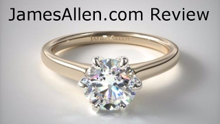 JamesAllen.com Unboxing and Review: 14K Yellow Gold Tapered Six Prong Diamond  Engagement Ring