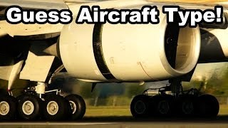 close up landings compilation guess aircrafts type competition 2