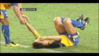 20100814 「ベガルタ仙台」対「ガンバ大阪」 1-3 【仙】菅井 【G】中澤...