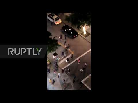 USA: Mob Attacks Machete-wielding Man During George Floyd Protests