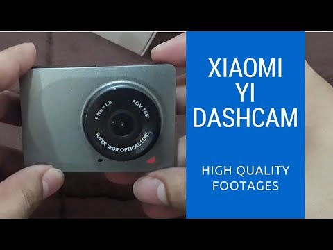 Xiaomi Yi Dashcam [Unboxing And Review]
