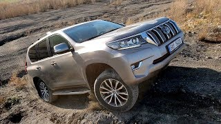 2018 Toyota Land Cruiser: off-road