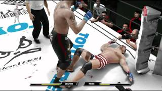 UFC Undisputed 3 Knockout montage PS3