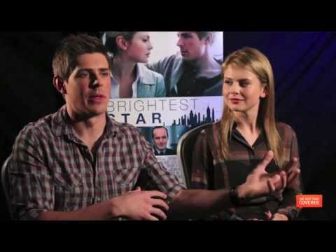 Brightest Star Interview With Chris Lowell And Rose McIver [HD]